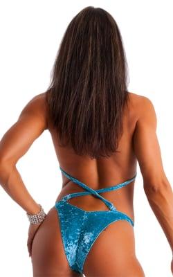 Womens-NPC-IFBB-Scrunchie-Figure-Suit-BottomBack