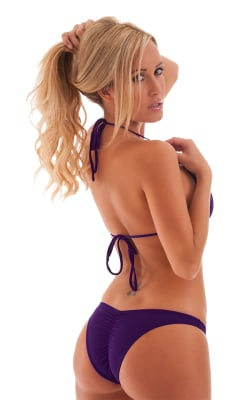 Bikini-Bottom:-Brazilian-1/2-Scrunched-with-Smooth-Low-Cut-SidesBack