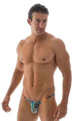 Mens Swimsuits - Half Back