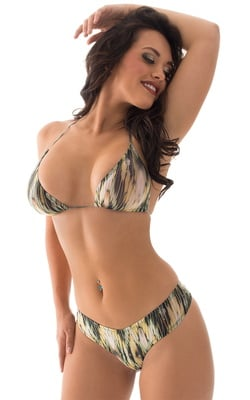 Brazilian Triangle Swim Top in ThinSkinz Bamboo