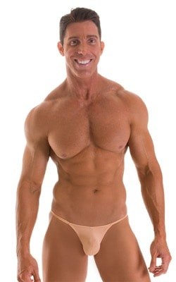 Stuffit Pouch G String Swimsuit in Super ThinSKINZ Nude