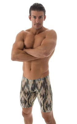Extreme Lycra Jammer Shorts in Super ThinSKINZ Bamboo