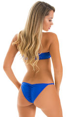 Tanning Bandeau Swimsuit Top in Super ThinSKINZ Cool Infared 5