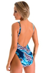 Baywatch One Piece Swimsuit in Swimmimng Leopard 2