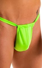 4-Way Adjustable Bikini-Tanga-Micro in Neon Lime 3