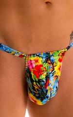 4-Way Adjustable Bikini-Tanga-Micro in Super ThinSKINZ Honolulu 5