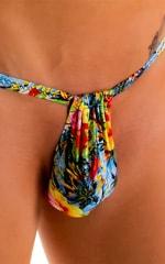 4-Way Adjustable Bikini-Tanga-Micro in Super ThinSKINZ Honolulu 6