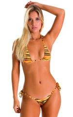 Maximum Tanning Triangle Top in ThinSKINZ Golden Kat 1