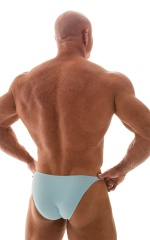 Posing Suit - Competition Bikini Cut in Baby Blue 3