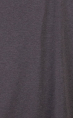 Womens Swim and Sport Fun Top in Dark Heather Grey Cotton-Spandex 10oz Fabric
