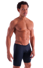 Extreme Lycra Jammer Shorts in Black 1