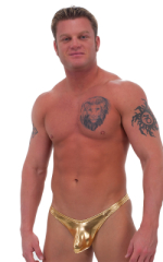 Exotic Dancer - Pouch Enhanced - Pistol Bikini in Liquid Gold (PRO Lining) 1