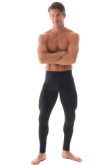 Mens Leggings Tights in Black nylon/lycra 1
