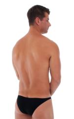 Pistol Pouch Rio swimsuit in ThinSKINZ Black - Semi Sheer 3
