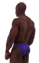 Posing Suit - Competition Bikini Cut in Shiny Purple 3