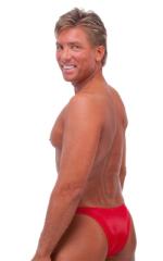 Rio Tanning Bikini Swimsuit in Lipstick Red 3