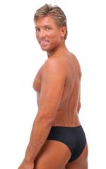 Hot Pants - Sexy Short Shorts in Semi Sheer ThinSKINZ Black 3