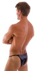 Sunseeker2 Tanning Swimsuit in Wet Look Black 3