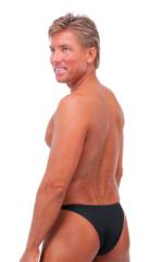 Rio Tanning Bikini Swimsuit in Semi Sheer Black PowerNet 3