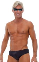 Riviera Swim Suit Brief in Black 1