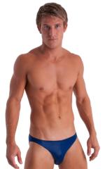 Bikini-Brief Swimsuit in Dark Navy Blue 1