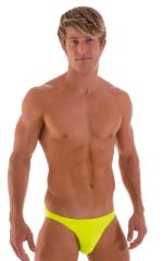 Bikini-Brief Swimsuit in Neon Chartreuse 1