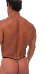 Mens G String Thong - Adj. Full Pouch