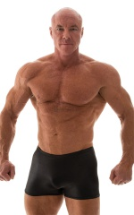 Posing NPC-IFBB Physique Classic Short in Wet Look Black 4