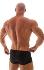 Posing NPC-IFBB Physique Low Cut Short in Shiny Black 3