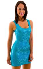 Sexy Short Body Hugging Mini Dress By Skinz