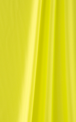 Banded Cheeky Swimsuit Bottom in Chartreuse and Neon Lime Fabric