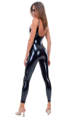 CamiCat-Catsuit-Bodysuit in Superstretch Gloss Black Vinyl 3