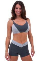 V Panel Gym Shorts 4