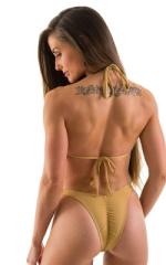 Brazilian Triangle Swim Top Swimtop in Nude 5