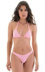 High Cut Thong Bottom in Barbie Pink 1
