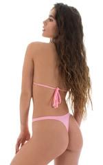 High Cut Thong Bottom in Barbie Pink 3