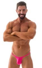 Sunseeker Micro Pouch Half Back Bikini in ThinSKINZ Hot Pink 5