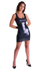 Mini Dress in Black Ice 3