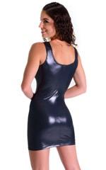 Mini Dress in Black Ice 2