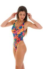Baywatch One Piece Swimsuit in Tahitian Tan Through 5