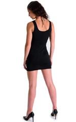 Mini Dress in Super ThinSKINZ Black 4