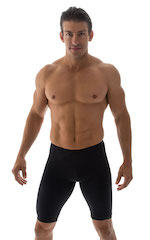 Competition Swim-Dive Jammers in Black 1