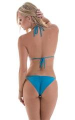 Brazilian Pucker Butt Bikini in ThinSKINZ Sapphire 5