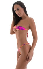 Band-Aid Bandeau Top in Tahitian Sunset 5