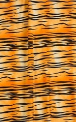 Maximum Tanning Triangle Top in ThinSKINZ Golden Kat Fabric