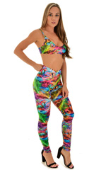 Swim and Sport Fun Top in Vapors 1
