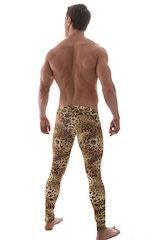 Mens SUPER Low Leggings Tights in Jungle Kat 3