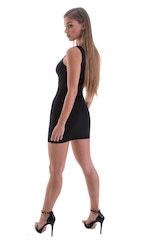 Micro Mini Dress in ThinSKINZ Black 3