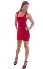Micro Mini Dress in ThinSKINZ Red 4