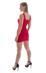 Micro Mini Dress in ThinSKINZ Red 3